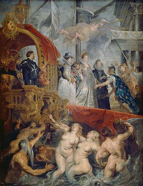 Peter Paul Rubens: Die Landung der Maria de' Medici in Marseille am 3.November