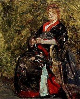Henri de Toulouse-Lautrec: Lily Grenier im Kimono