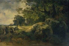 Alexej Ssawrasoff: Landschaft in der Umgebung von Oranienb