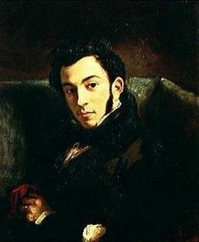 Eugene Delacroix: Bildnis des Frederic Villo