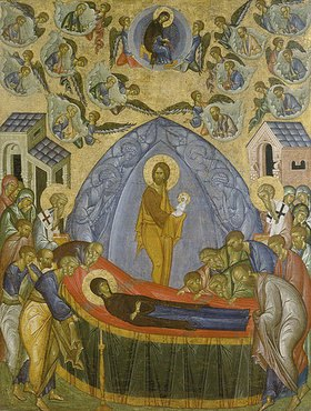 Ikone russisch: Himmelfahrt Mariae