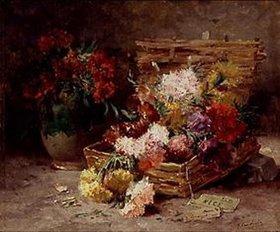 Eugene Henri Cauchois: Blumenkorb aus Nizza