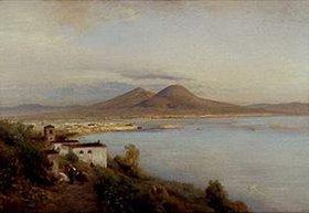 Albert Flamm: Bucht von Neapel