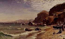 Peder Moensted: Strand auf Capri
