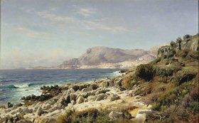 Peder Moensted: Küste bei Monte Carlo