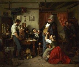 Peter Schwingen: Die Pfändung. 1846 (?)
