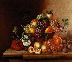 Johann Georg Seitz: Fruchtstilleben
