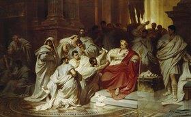 Karl Theodor von Piloty: Die Ermordung Julius Caesar's