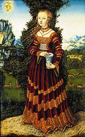 Lucas Cranach d.Ä.: Heilige Maria Magdalena