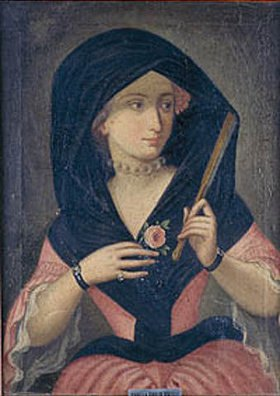Anonym: Bildnis der Isabella Zoppi de Prozelli