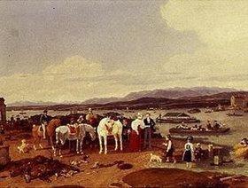 Wilhelm von Kobell: Nach der Jagd