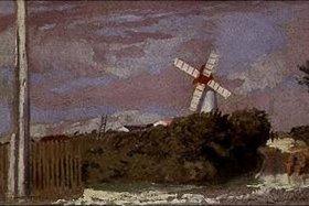 Maurice Denis: Die Windmühle (La Bernerie)