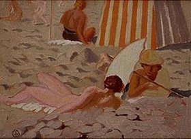 Maurice Denis: Am Strand