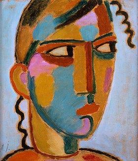 Alexej von Jawlensky: Kopf eines Mädchens