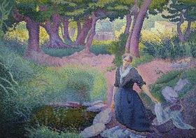 Henri Edmond Cross: Die Wäscherin