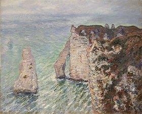 Claude Monet: Aiguille und Porte d'Aval in Etretat