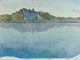 Ferdinand Hodler: Thuner See mit Stockhorn-Kette