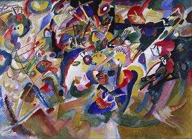 Wassily Kandinsky: Studie zu Komposition VII. 1913. (Entwurf 3)