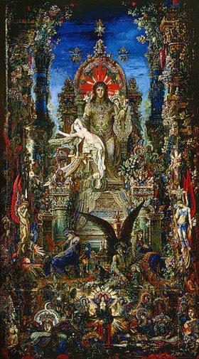 Gustave Moreau: Jupiter et Semélé (Detail)