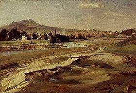 Edmund Friedrich Kanoldt: Landschaft bei Karlsbad