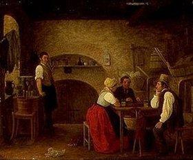 Johann Michael Neder: Im Weinkeller