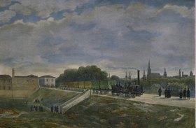 Ignaz Sonntag: Die Eisenbahn in Wien (Nordbahn)