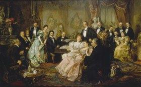 Franz von Bayros: Ein Abend bei Johann Strauss