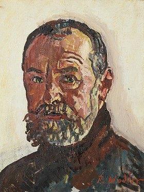 Ferdinand Hodler: Selbstbildnis. 1918 - ferdinand-hodler-selbstbildnis-1918