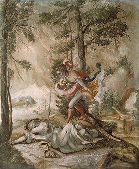 Hans Leu: Cephalus und Procris