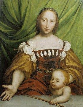 Hans Holbein d.J.: Venus und Amor