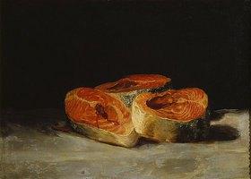 Francisco José de Goya: Lachs-Stilleben