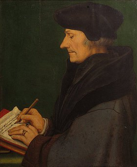 Hans Holbein d.J.: Erasmus von Rotterdam