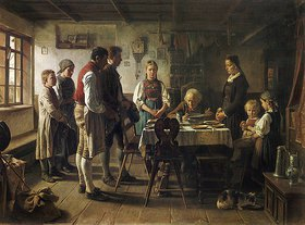 Benjamin Vautier: Das Tischgebet