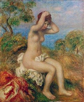 Auguste Renoir: Badendes Mädchen