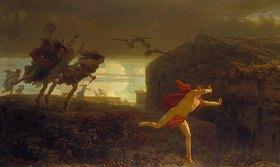 Marc Charles Gabriel Gleyre: Pentheus, von den Maenaden verfolgt