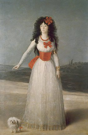 Francisco José de Goya: Die Herzogin von Alba