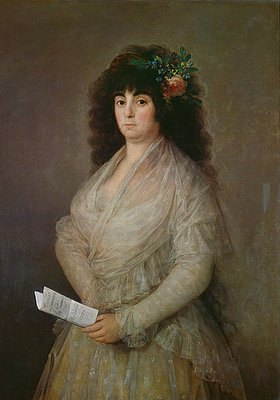 Francisco José de Goya: Die Schauspielerin (Maria del Rosario Fernández)