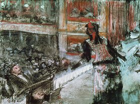 Edgar Degas: In der Oper