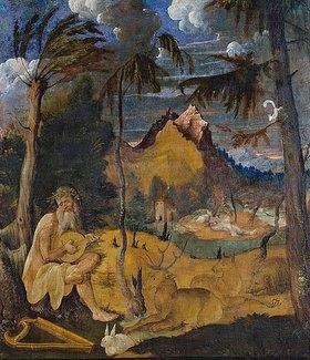 Hans Leu: Orpheus und die Tiere