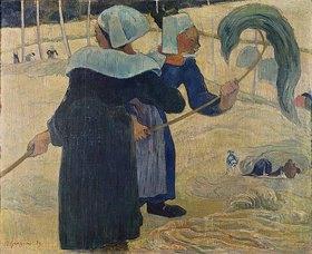 Paul Gauguin: Die Heumacherinnen