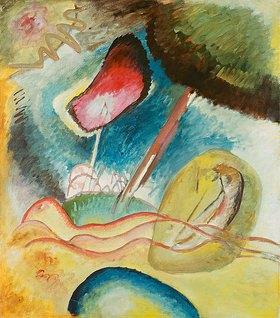 Wassily Kandinsky: Roter Fleck (Nächtlich)