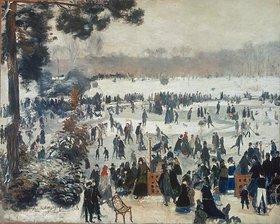 Auguste Renoir: Wintervergnügen im Bois de Boulogne