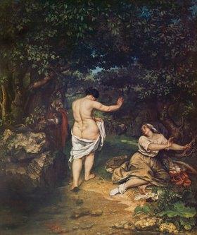 Gustave Courbet: Die Badenden