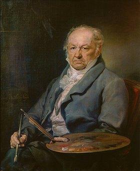 Vicente López: Der Maler Francisco José de Goya