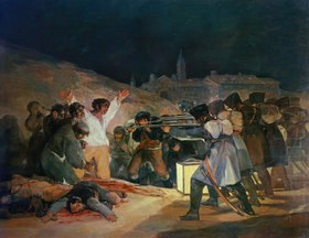 Francisco José de Goya: Der 3. Mai 1808 (Erschießung von aufständischen Straßenkämpfern)