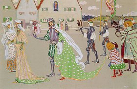 Wassily Kandinsky: Der Brautzug