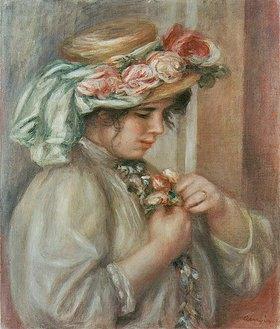 Auguste Renoir: Mädchen mit Hut