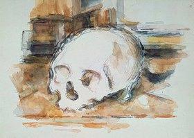 Paul Cézanne: Studie eines Totenkopfes