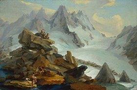 Kaspar Wolf: Der Lauteraar-Gletscher