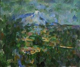 Paul Cézanne: Der Mont Sainte-Victoire von Les Lauves aus gesehen